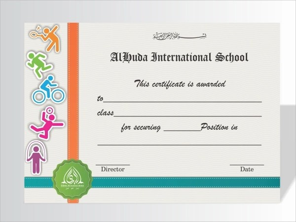 21 Examples Of Sports Certificates PSD Word Pages PDF Examples