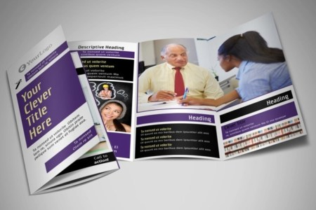 15  Examples of Brochure Designs for Education   Editable PSD  AI     Education Counselling Brochure Template