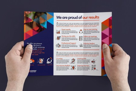 10  Examples of Recruitment Brochure Design   Editable PSD  AI     Recruitment Agency Brochure