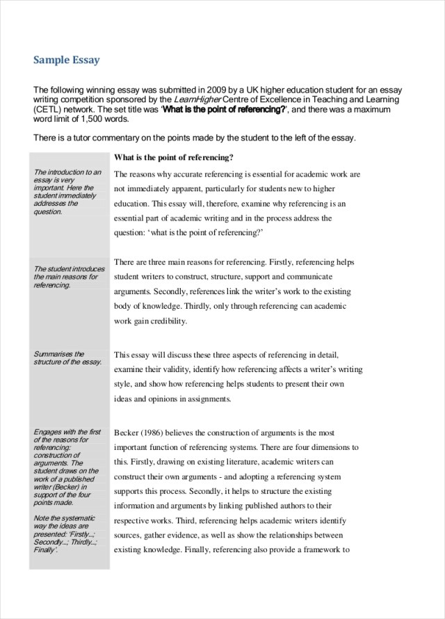 FREE 25+ Evaluation Essay Examples in PDF  Examples