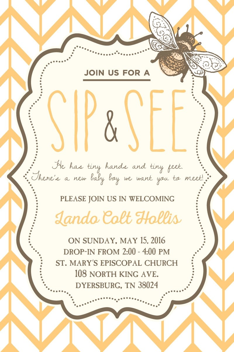 On the hunt for all things baby shower? Free 15 Sip And See Invitation Designs Examples In Psd Ai Eps Vector Examples