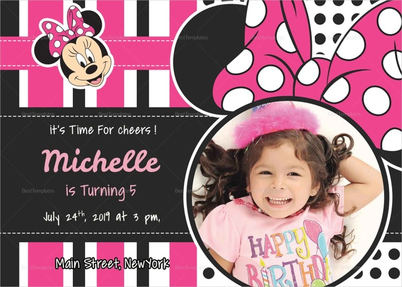 free 14 minnie mouse birthday