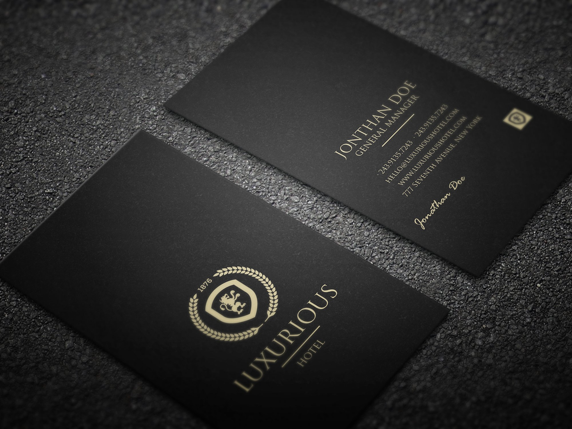 29 Luxury Business Card Designs Amp Examples PSD AI