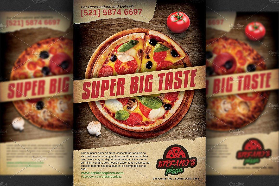 14 Restaurant Flyer Designs Amp Examples PSD AI Vector EPS
