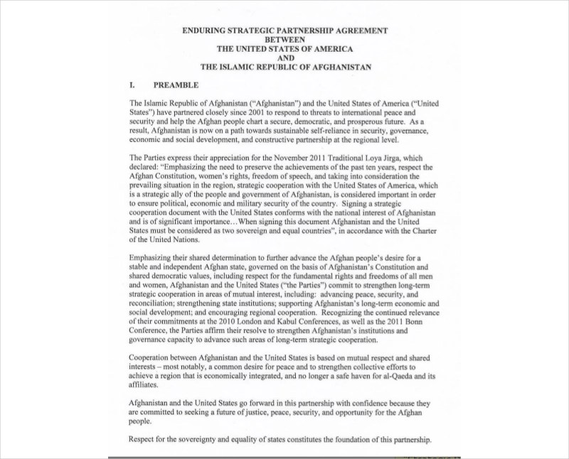 Strategic partnership agreement this strategic partnership agreement is made on october 23, 2000 (the effective date). 25 Partnership Agreement Examples Samples Pdf Doc Examples