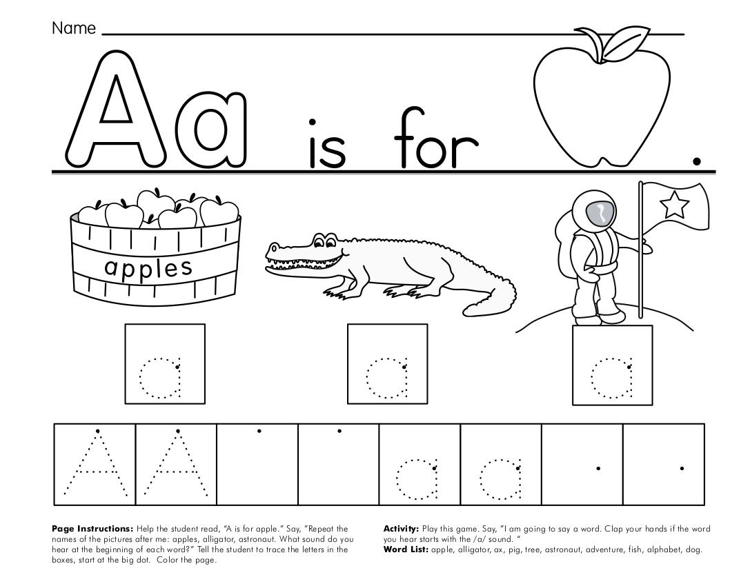 9 Alphabet Worksheet Examples In