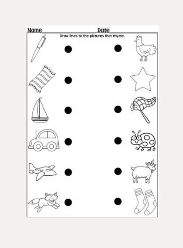 8 Kindergarten Worksheet Examples