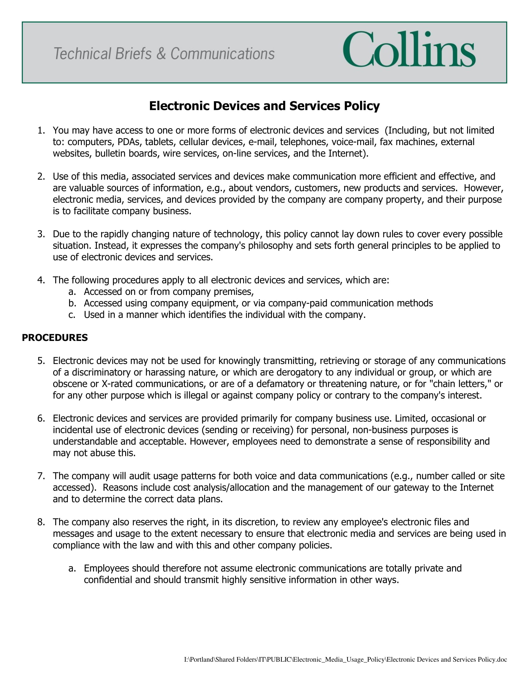15 Employee Email Policy Examples