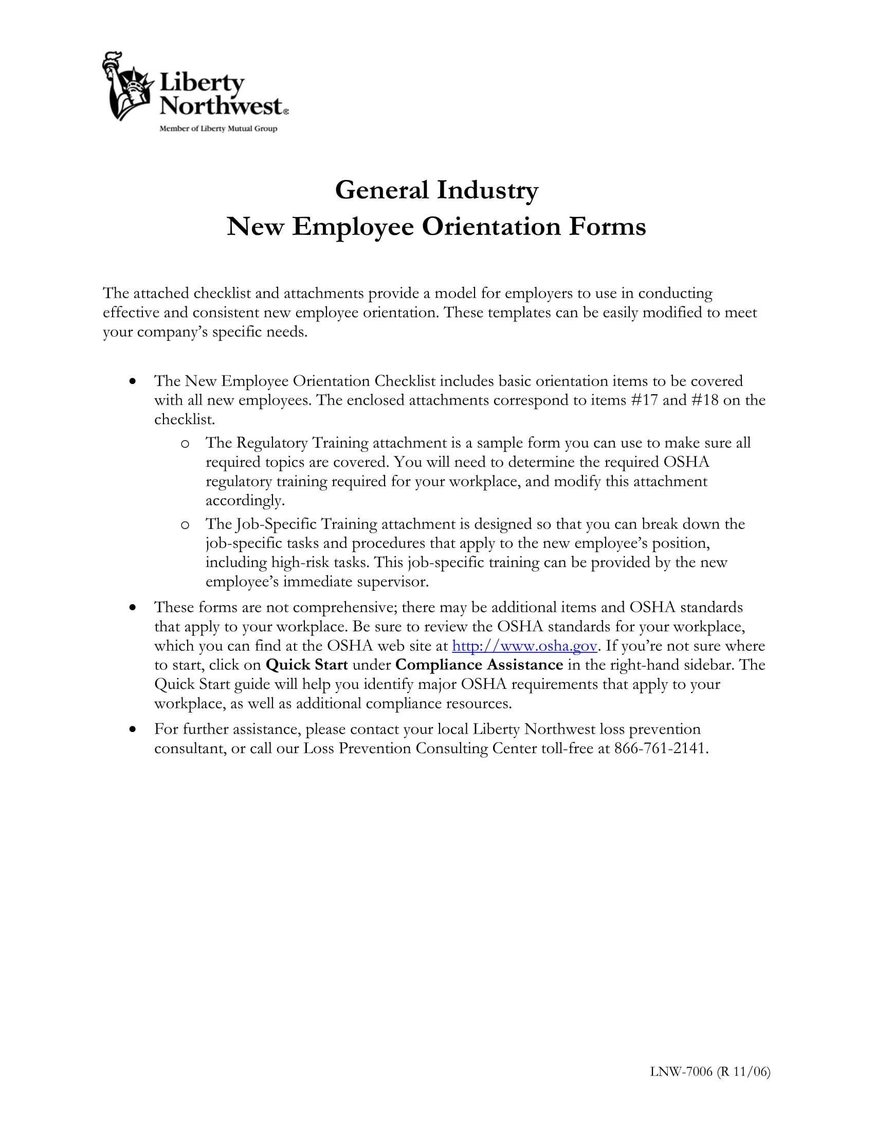 14 New Employee Orientation Program Checklist