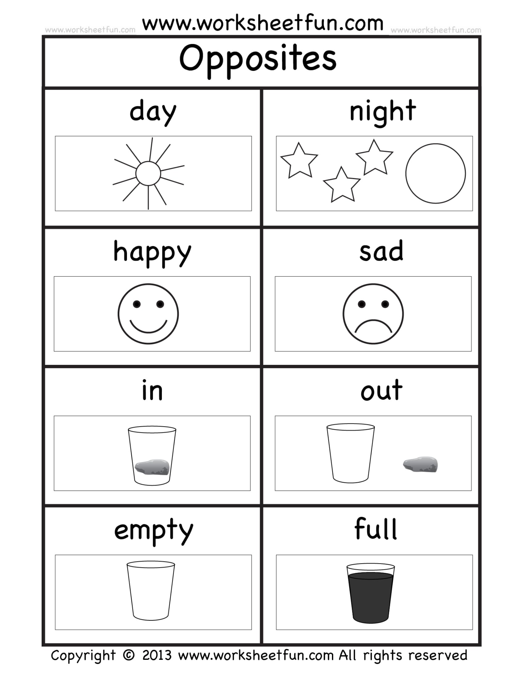 8 Kindergarten Worksheet Examples