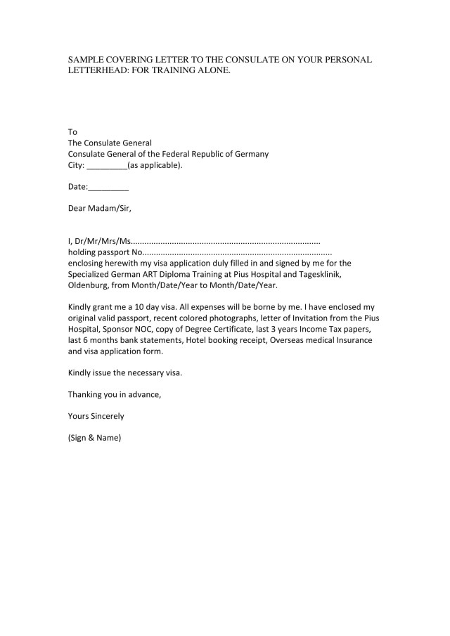 11+ Professional Letter Format Examples - PDF  Examples