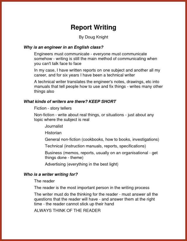 14+ Narrative Report Examples - PDF  Examples