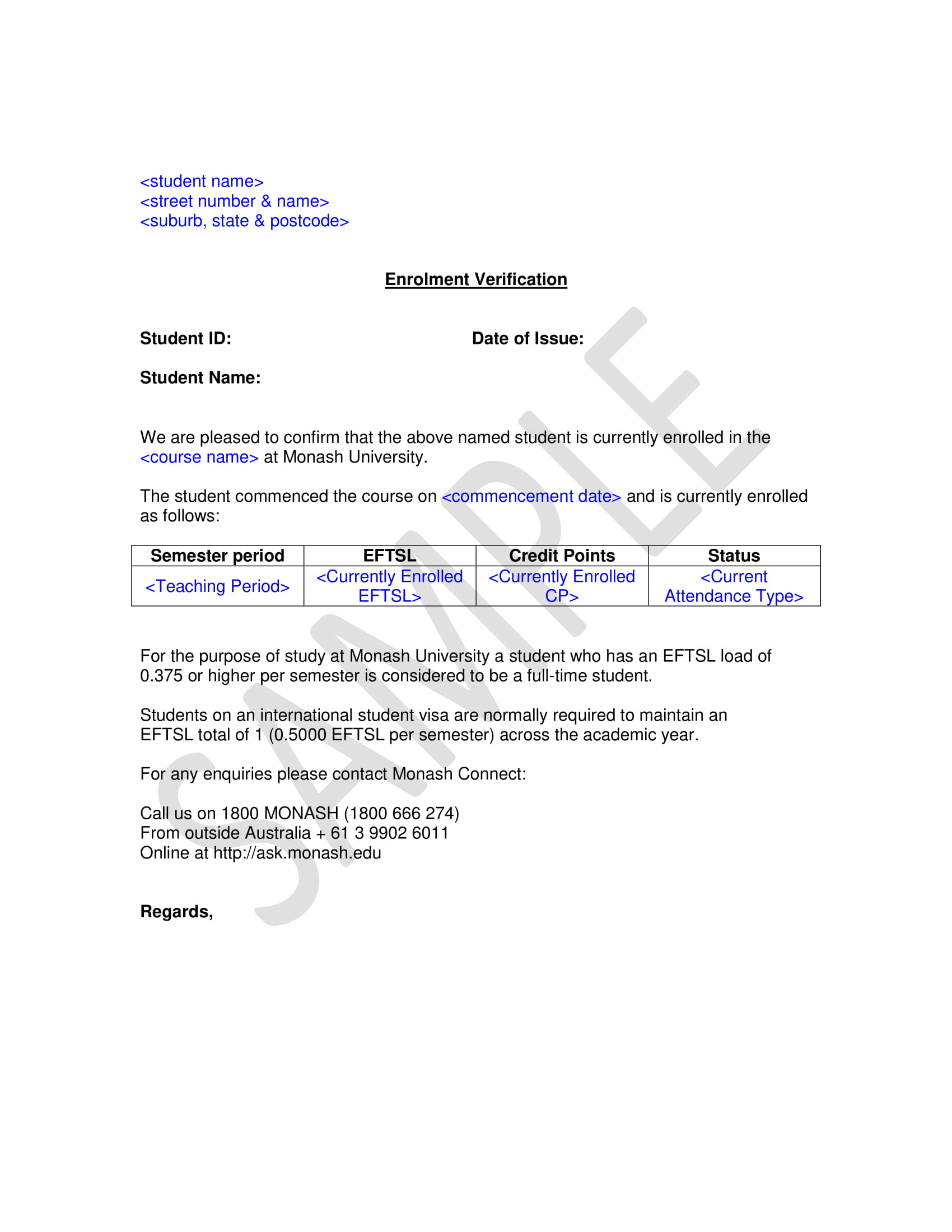 29 Verification Letter Examples