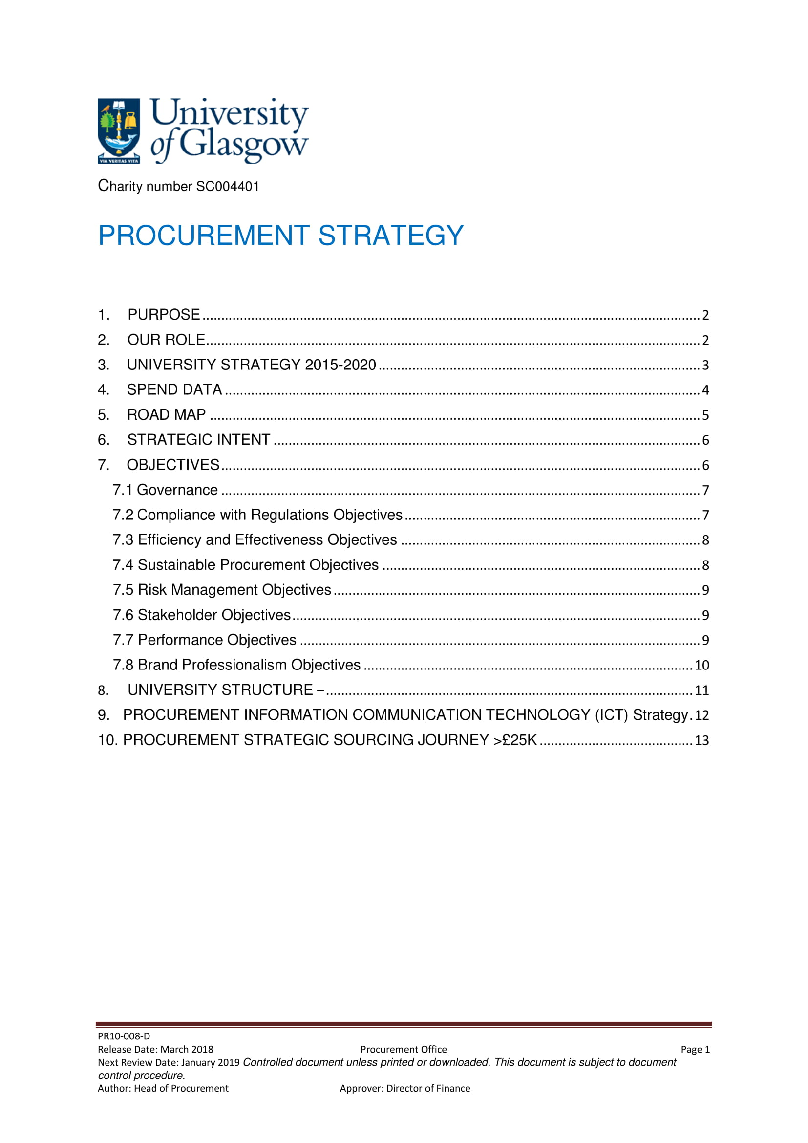 9 Procurement Strategy Plan Examples PDF Examples