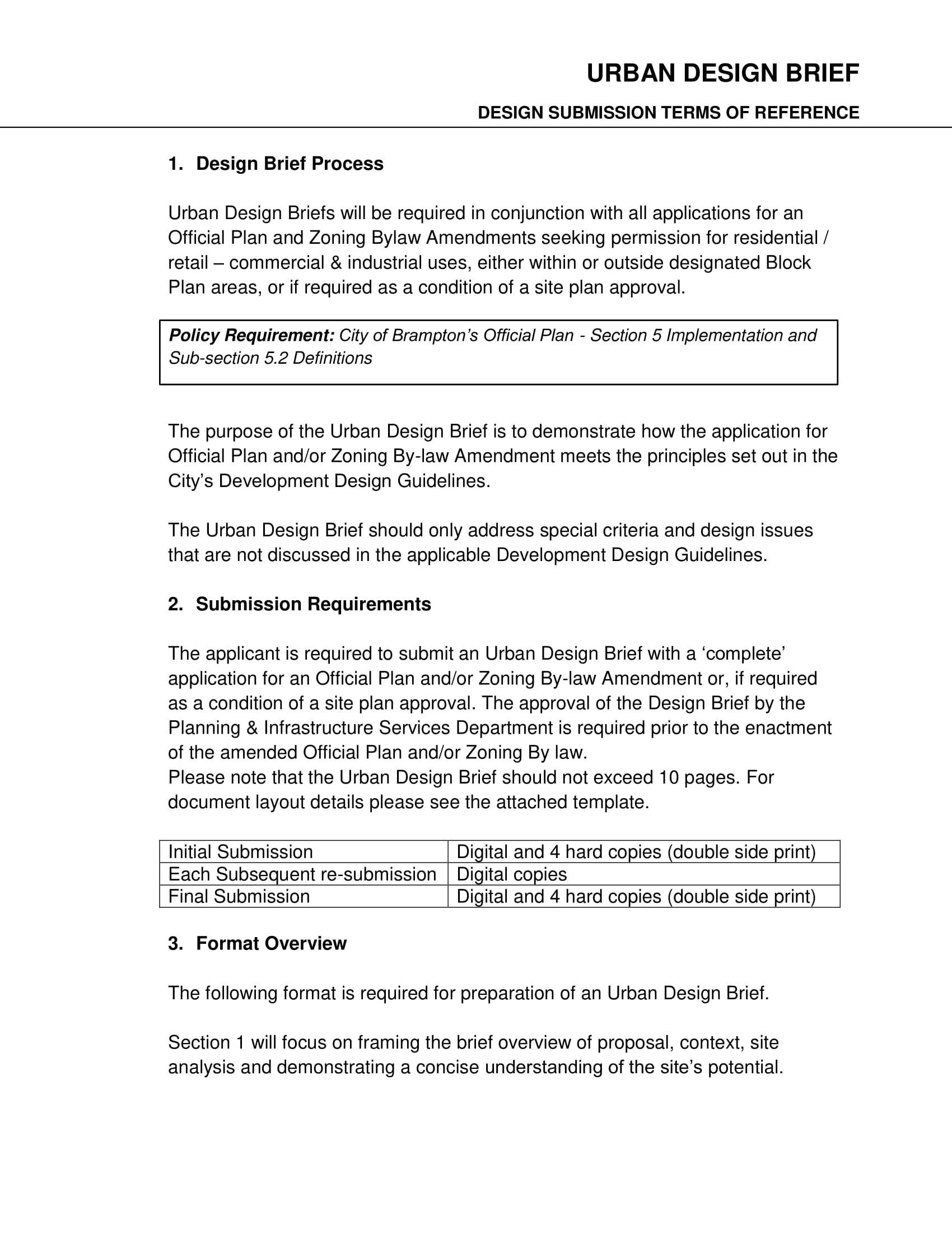 14 Design Brief Template Examples PDF Examples