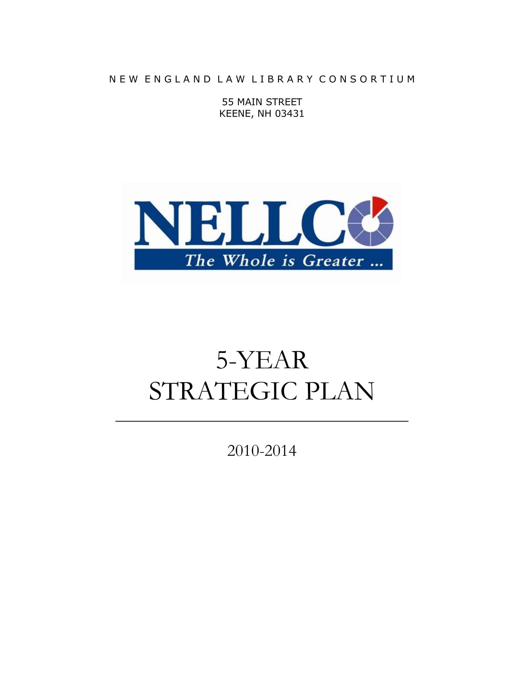 10 5 Year Strategic Plan Examples