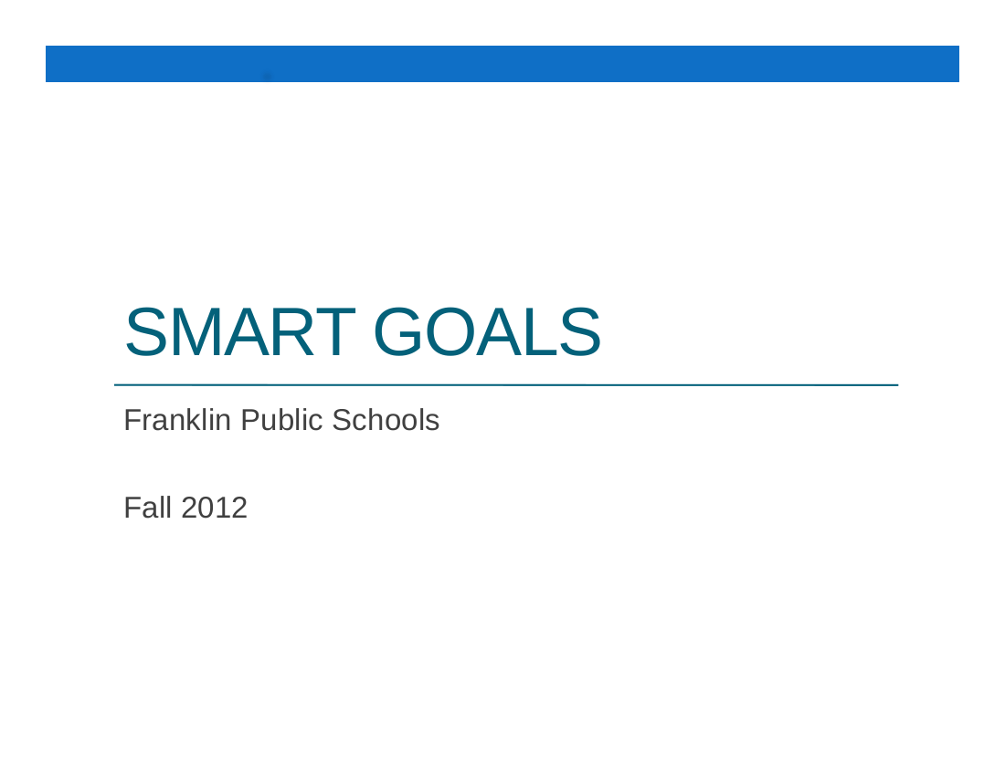 8 Smart Goal Setting Examples