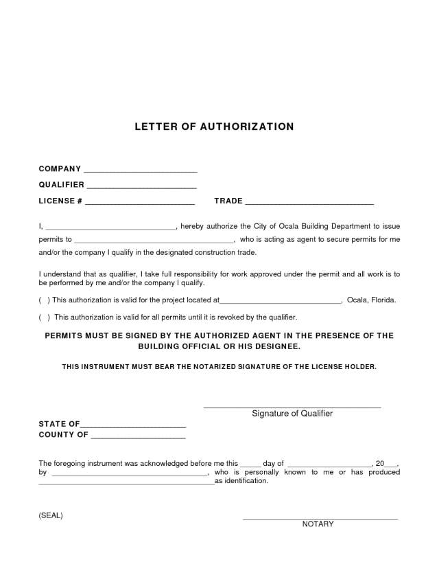 22+ Agent Authorization Letter Examples - PDF  Examples