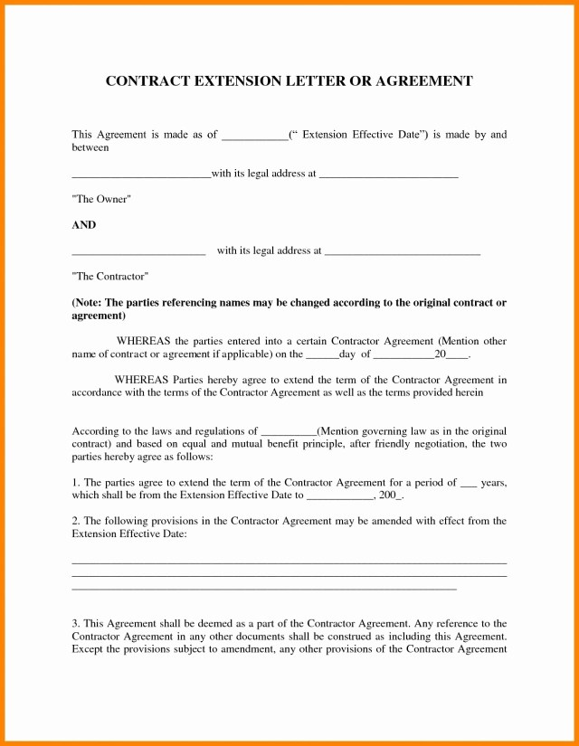 27+ Contract Agreement Letter Examples - PDF  Examples