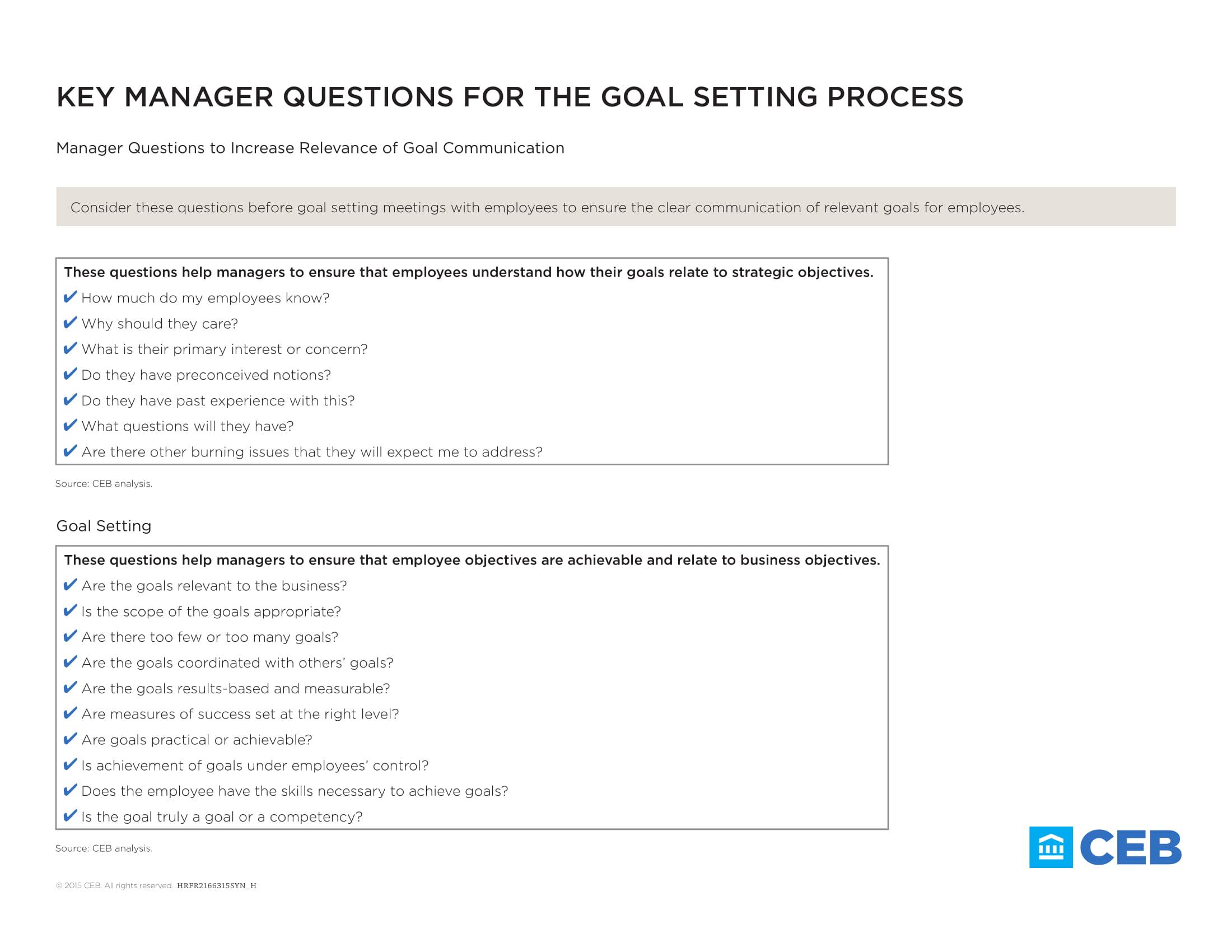 9 Employee Goal Setting Examples