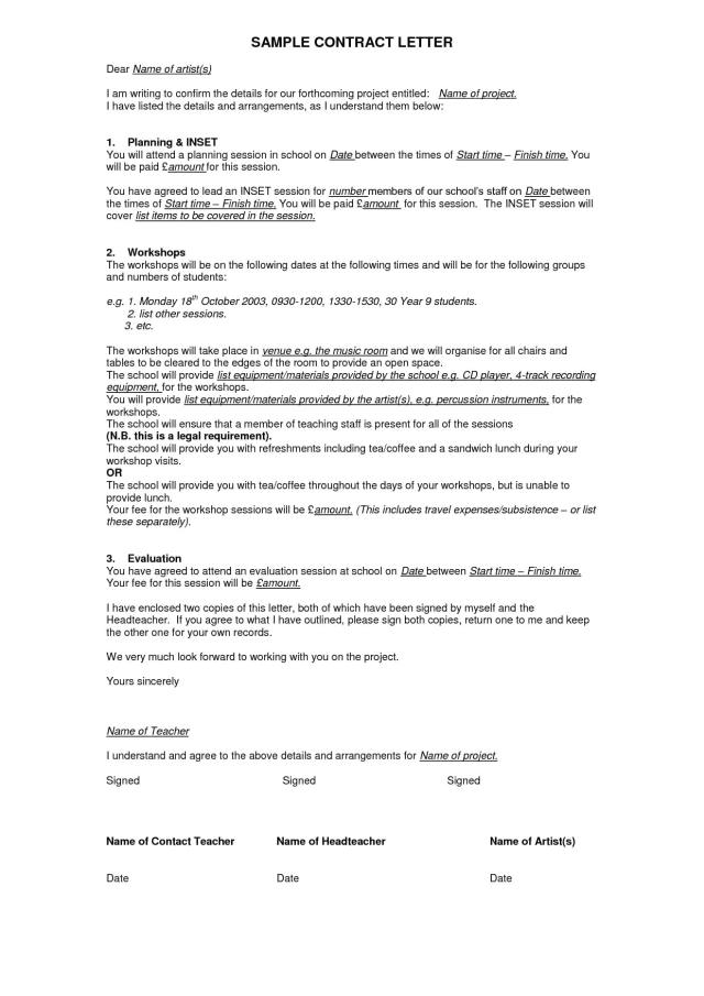 Writing Company Contracts; Business Contract Template