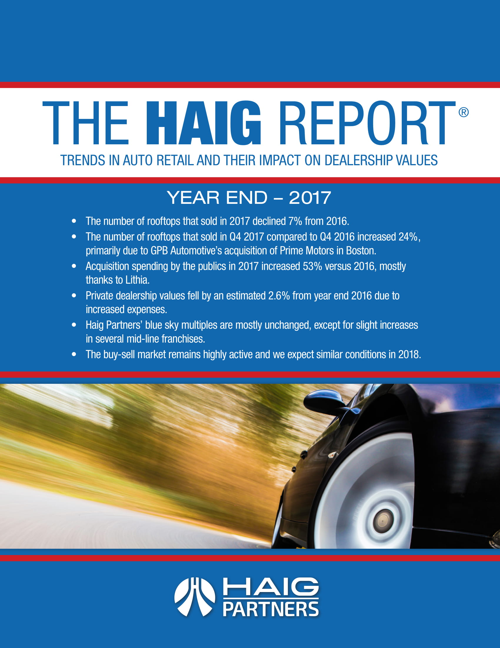 The Haig Report Year End Report Example