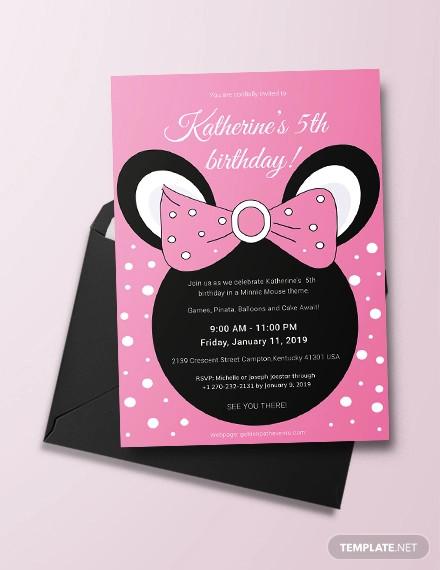 birthday invitation designs examples