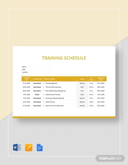 Roadmap template in excel is a tool that is used to measure, trace and forecast the performance of any product. Microsoft Excel Training Proposal