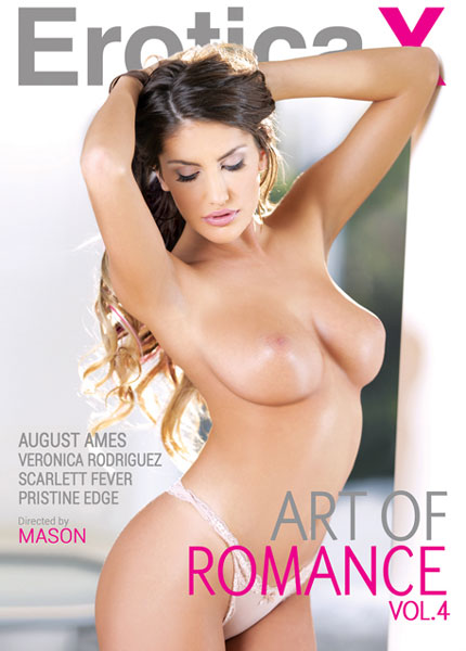 Art of Romance 4, Porn DVD, EroticaX, Mason, August Ames, Veronica Rodriguez, Scarlett Fever, Pristine Edge, All Sex, Couples, Romance