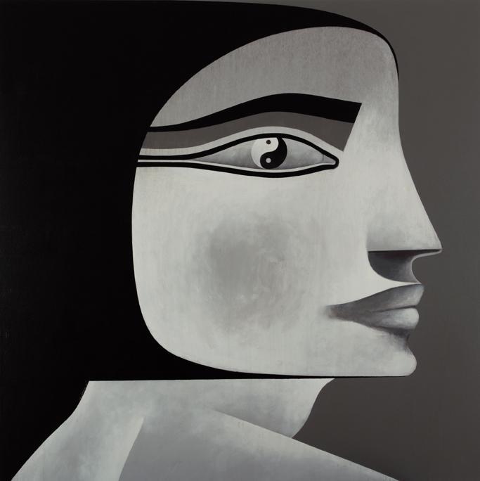 Safwan Dahoul Dream 54, 2011 Acrylic on canvas 200 x 200 cm