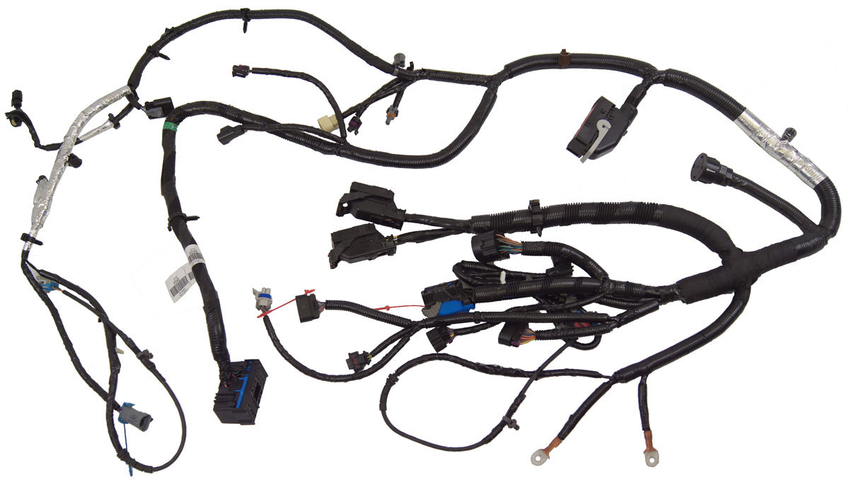 Buick Lucerne Complete Engine Wiring Harness 3 9l V6