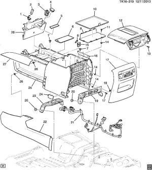 2004 Chevrolet Suburban Interior Parts   Brokeasshome