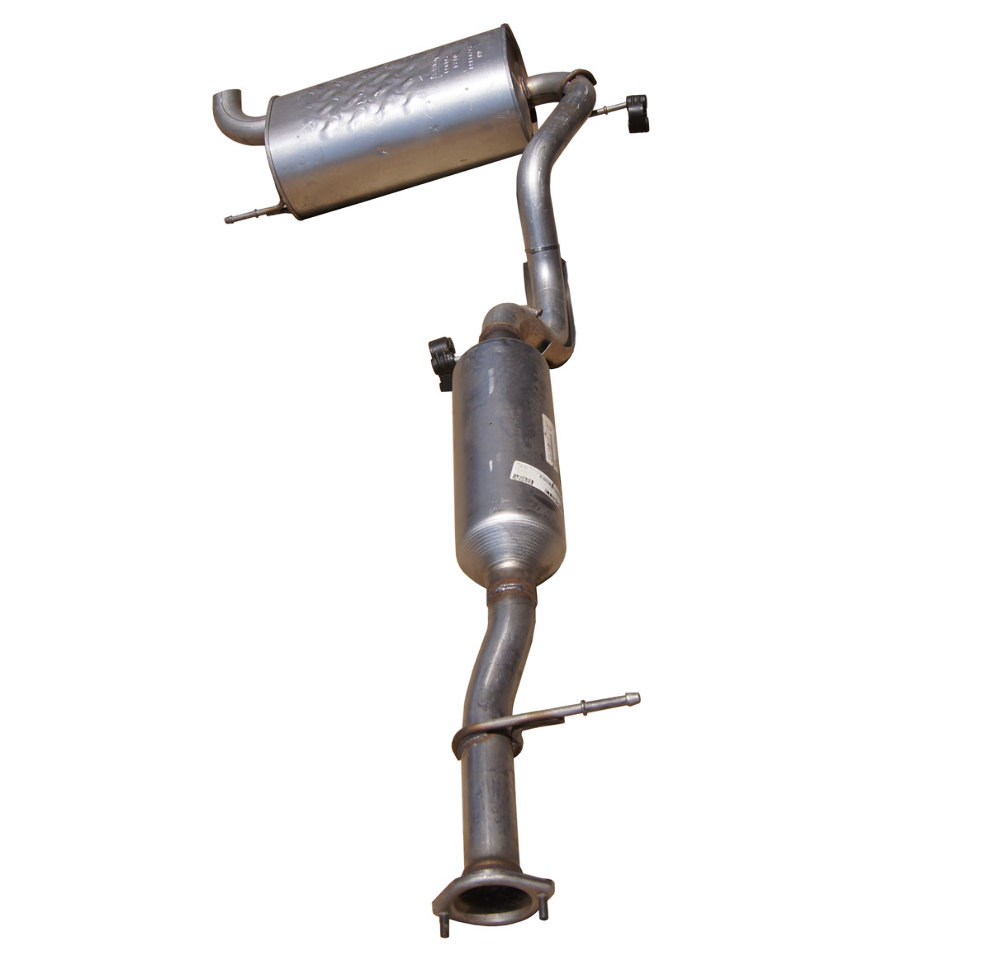 2007 2010 hummer h3 exhaust system muffler w resonator new oem walker 25791351