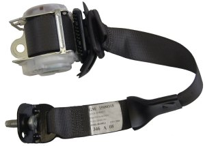 20052009 Hummer H2 SUT LH Rear (Drivers Side) Seat Belt Assembly