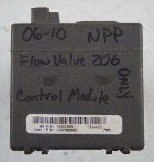 20052010 Corvette C6 Z06 70L NPP Exhaust Vacuum Control System Module 15857909