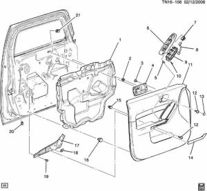 2003 Hummer H2 Sp205 Diagram Parts Auto Parts Catalog