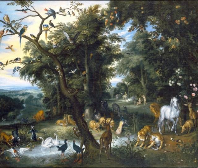 Izaak_van_oosten_ _the_garden_of_eden