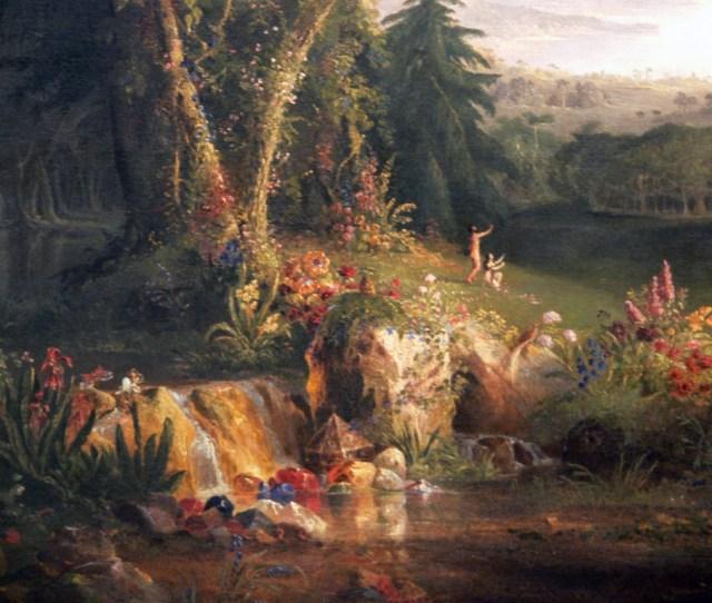 Thomas_cole_the_garden_of_eden_detail_amon_carter_museum