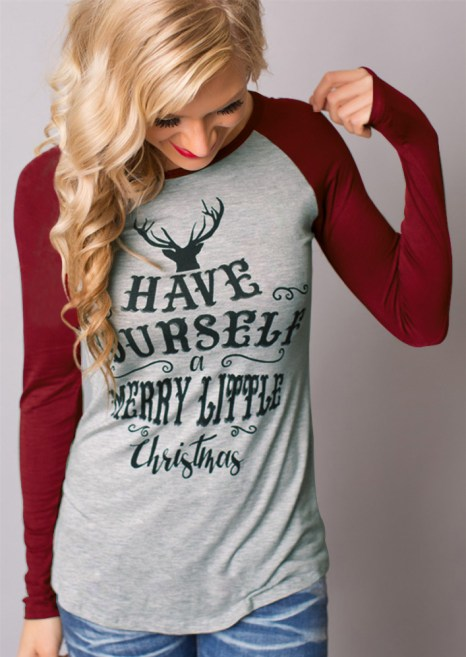 Merry Little Christmas- Country Style Christmas Tee