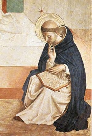 Beato Angelico, San Domenico in preghiera