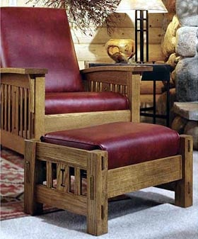 Arts And Crafts Morris Chair Woodworking Plan DP 00093