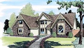 Tudor Style House Plan
