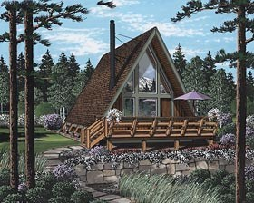 A frame home plans and the a shaped house family home for 14x14 cabin with loft