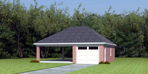 Garage Plan 45792 At
