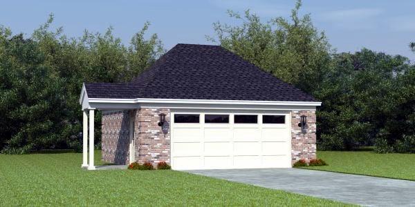 Garage Plan 46374 At