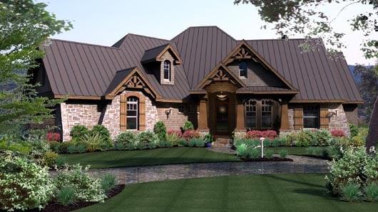 House Plan 65869 at FamilyHomePlanscom
