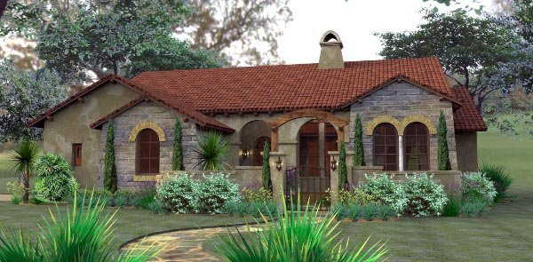 House Plan 65893 Cottage European Mediterranean Tuscan