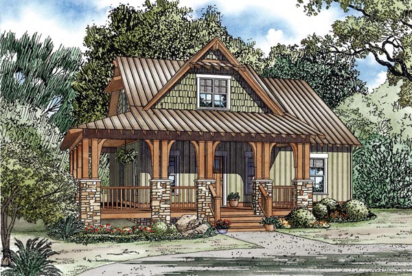 House Plan 82267 At FamilyHomePlans.com