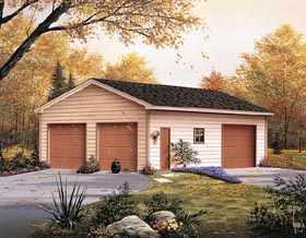 click to view the details of this garage plan