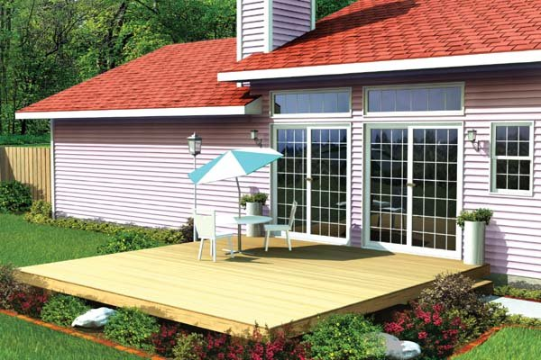 Project Plan 90001 - Easy Patio Deck on Patio Planner id=41137